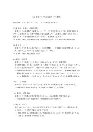 5.6 生活相談ダイヤル 群馬 事例 のサムネイル