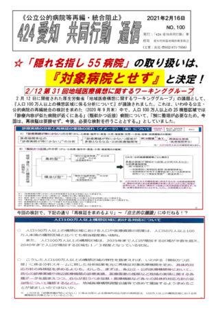 NO100-隠れ名指し病院は指定せず(2021-2-16)のサムネイル