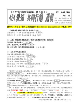 NO132―愛知県の「新たな医療提供体制」の整備は?のサムネイル