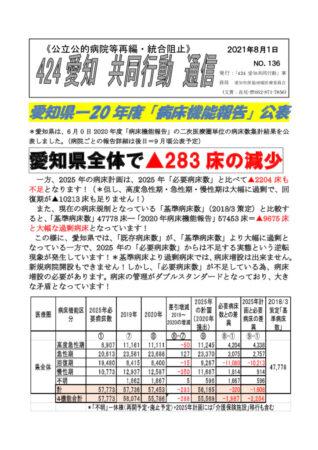NO136―愛知県病床機能報告2020年度 2021-8-1のサムネイル